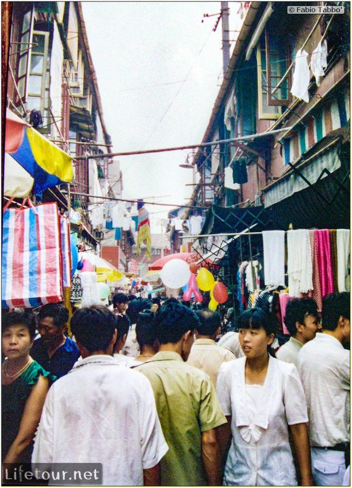 Fabio's LifeTour - China (1993-1997 and 2014) - Shanghai (1993 and 2014) - Tourism - Other pictures Shanghai - 1993 - 19869
