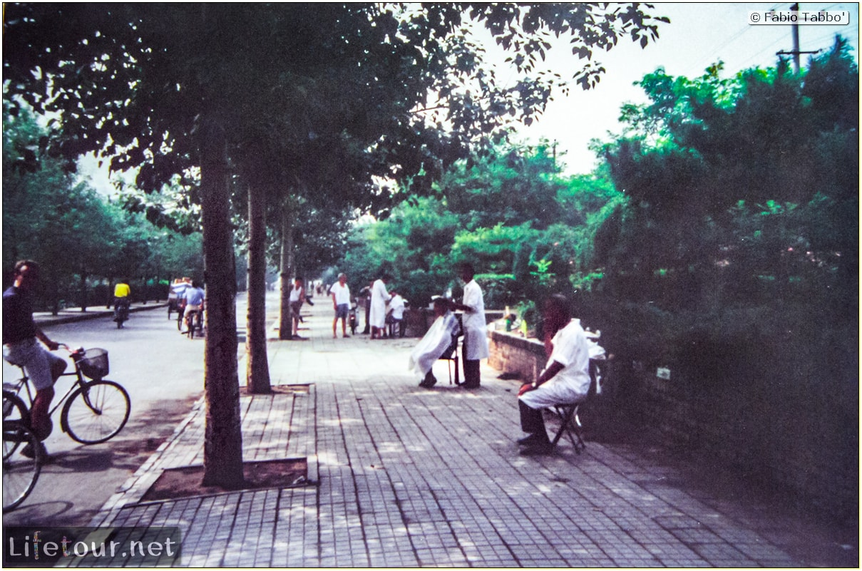 Fabio's LifeTour - China (1993-1997 and 2014) - Shanghai (1993 and 2014) - Tourism - Other pictures Shanghai - 1993 - 19878