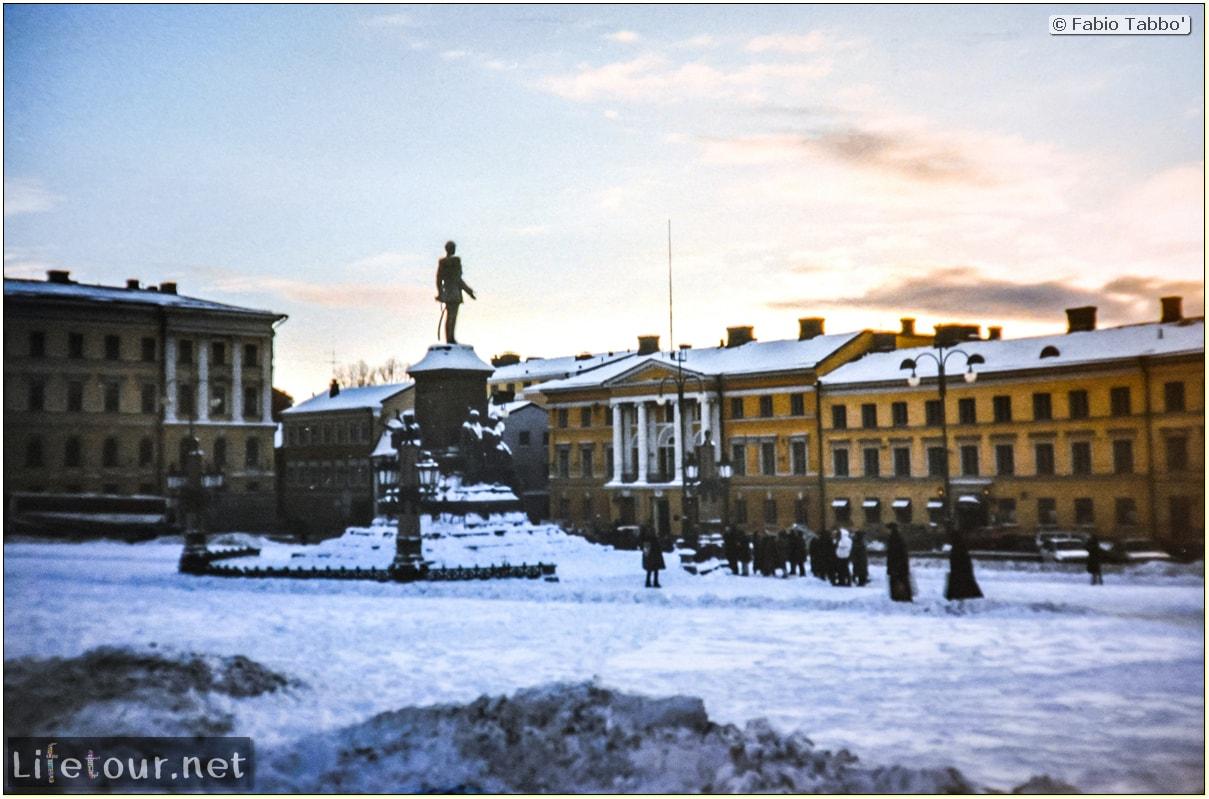 Fabio's LifeTour - Finland (1993-97) - Helsinki - Helsinki Senate Square and Cathedral - 12651
