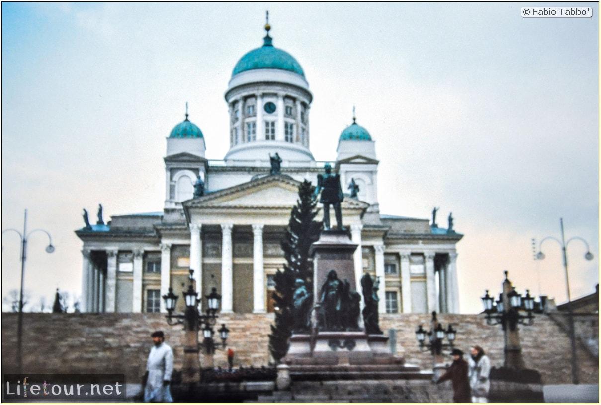 Fabio's LifeTour - Finland (1993-97) - Helsinki - Helsinki Senate Square and Cathedral - 12677