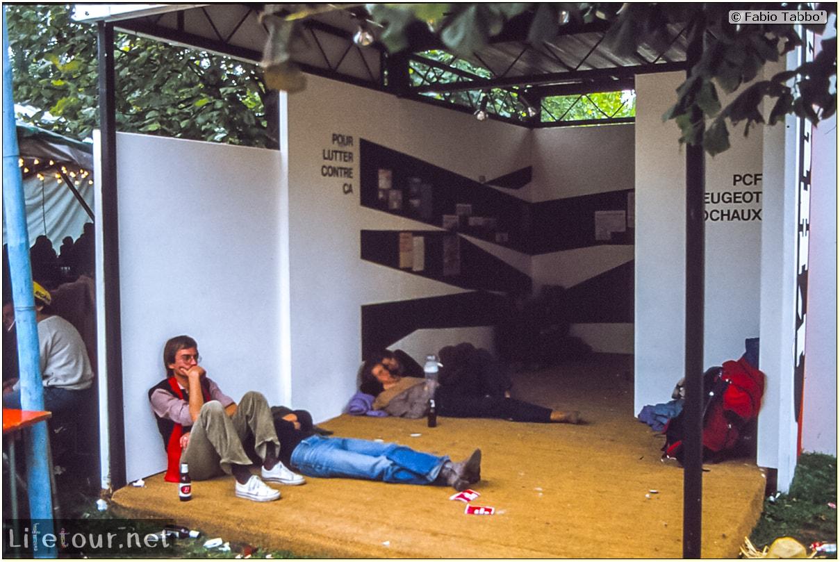 Fabio's LifeTour - France (1975, 1980, 90s) - Paris - Circus of Stains-Dugny 1979 - 16696