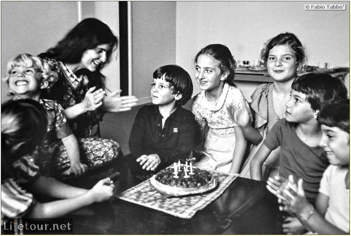 Fabio's LifeTour - France (1975, 1980, 90s) - Paris - Fabio's birthday (1979 October 27) - 12589