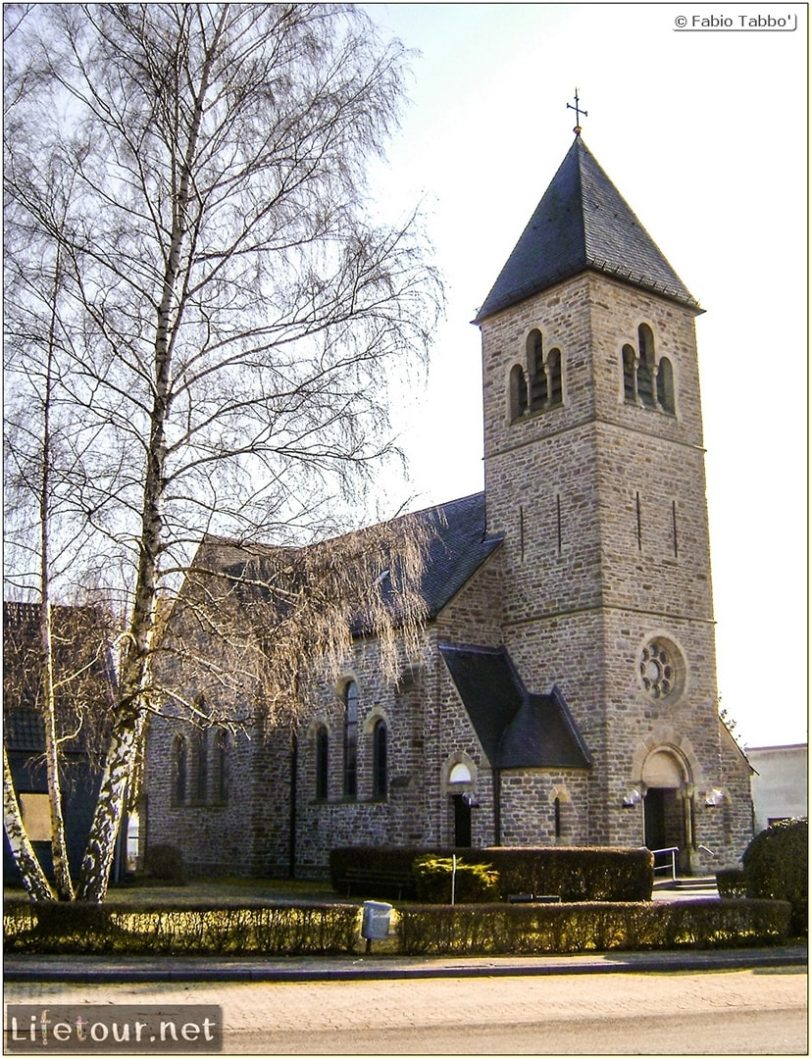 Fabio's LifeTour - Germany (2009 January) - Uckerath (Hennef) - Ev. Kirchengemeinde (Evangelical Church) - 15999