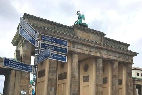 Germany 2009, 2019-Berlin 2019-04-Tourism-Brandenburg Gate-50 COVER