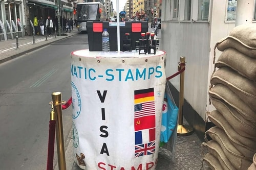 Germany 2009, 2019-Berlin 2019-04-Tourism-Checkpoint Charlie-37 COVER