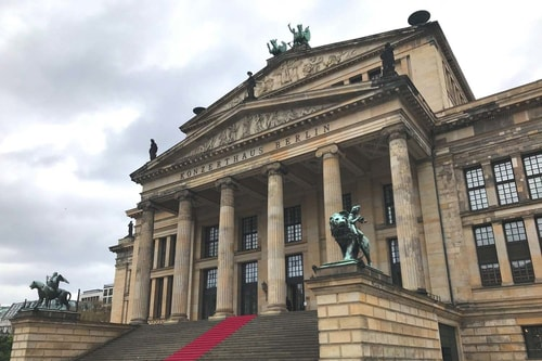 Germany 2009, 2019-Berlin 2019-04-Tourism-Gendarmenmarkt-18 COVER