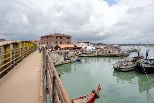 Ghana -Central Region-Elmina-City-14797 COVER