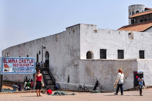 Ghana -Central Region-Elmina-Elmina Castle (St. George Castle)-10213 COVER
