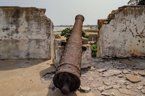 Ghana -Volta Region-Keta-Fort Prinzenstein-850 COVER