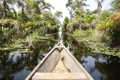 Ghana -Western region-Amansuri-Nzulezu floating village (Nzulezo)-1185 COVER