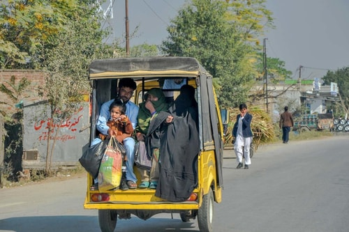 Pakistan-Islamabad-Tourism-The-Colored-mini-bus-10366 COVER
