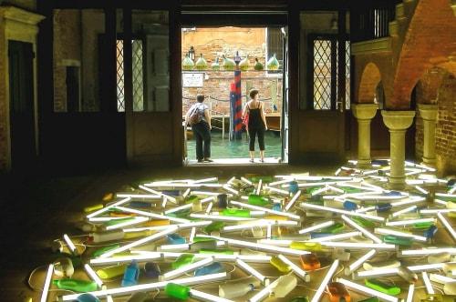 Italy -Veneto-Venice-Biennale Exposition 2013-Esposizione Bill Culbert-14190 COVER
