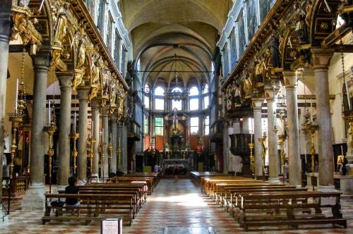 Italy -Veneto-Venice-Dorsoduro-Chiesa dei Carmini-13979 COVER
