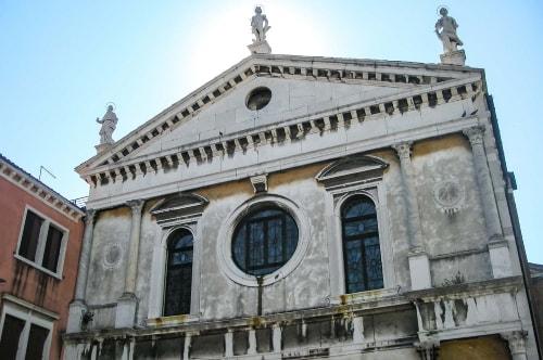 Italy -Veneto-Venice-Dorsoduro-Chiesa dell'Angelo Raffaele-14005 COVER
