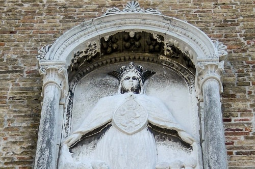 Italy -Veneto-Venice-Dorsoduro-Chiesa di San Pantalon (San Pantaleone)-13968 COVER
