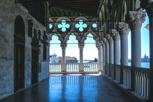 Italy -Veneto-Venice-San Marco-Palazzo Ducale-The Palace-14769 COVER