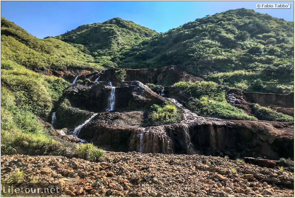 Taiwan 2018-Jiufen-Golden Waterfall-123