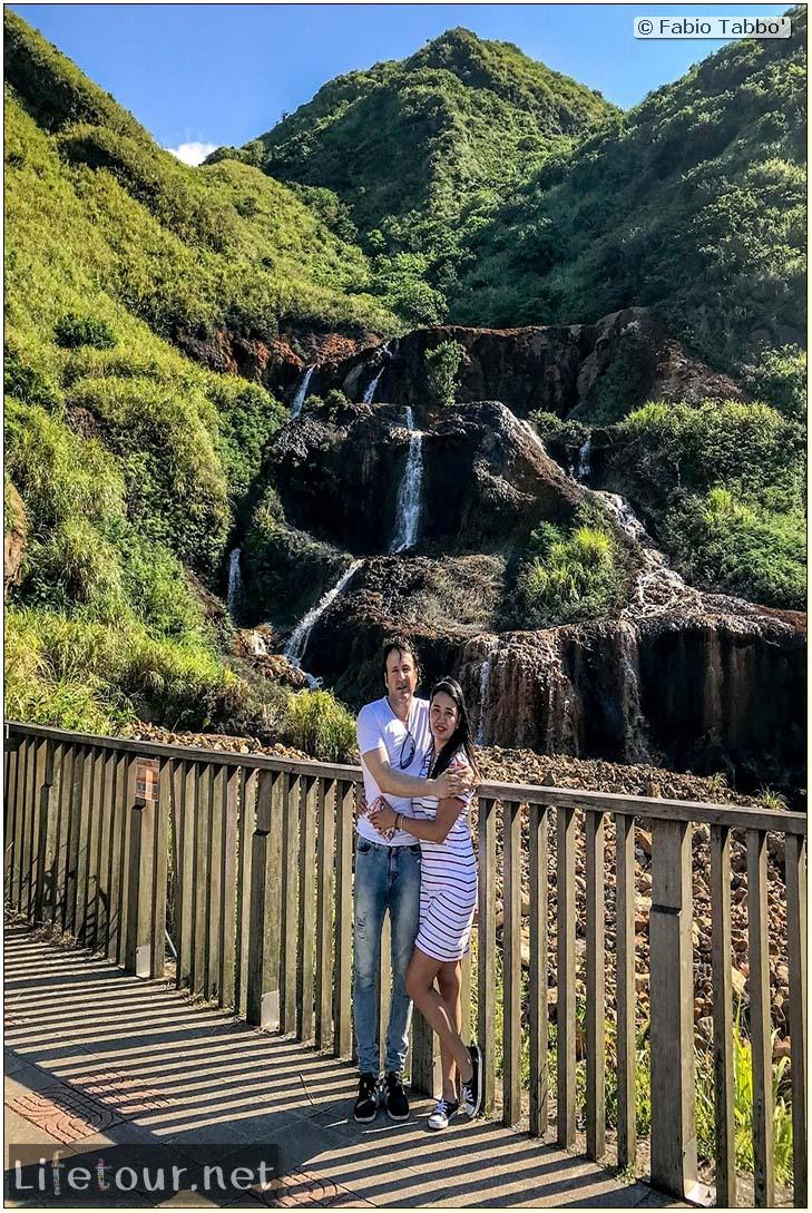 Taiwan 2018-Jiufen-Golden Waterfall-124