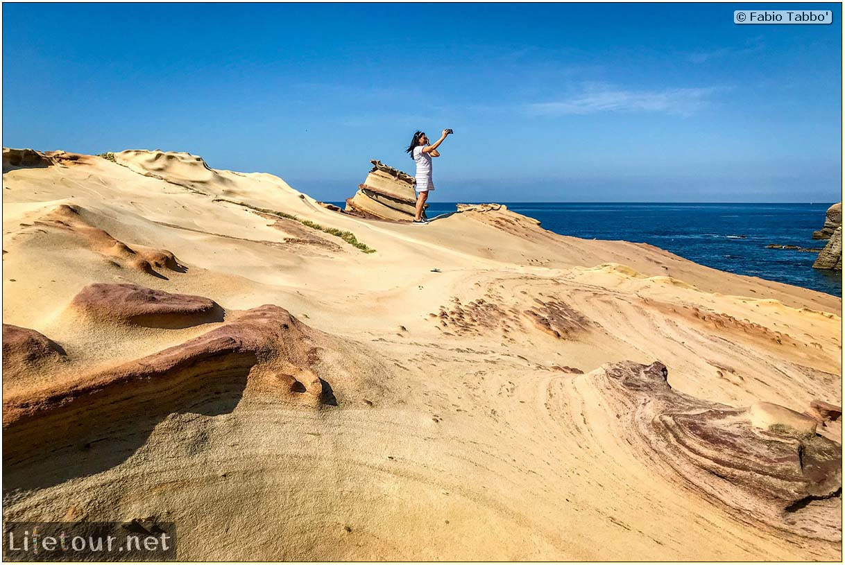 Taiwan 2018-Jiufen-Nanya Rock Formations-100