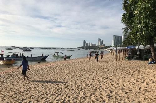 Thailand -Jomtien and Pattaya-Tourism-Pattaya Beach Road-18222 COVER
