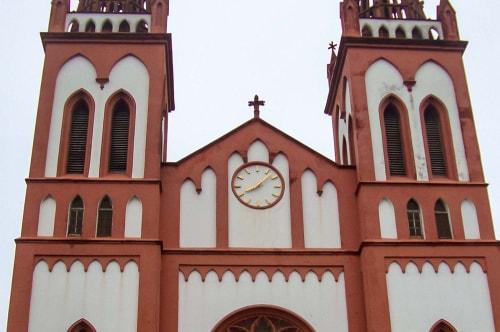 Togo -Lome-Cathedrale de Lomé-1329 COVER