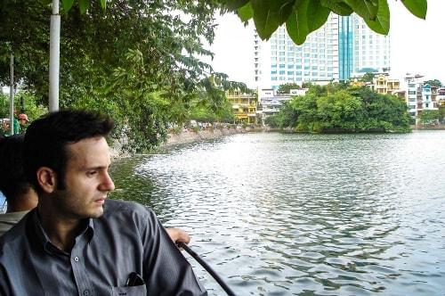 Vietnam -Ha Noi July-Tourism-Hoan Quiem lake-20626 COVER