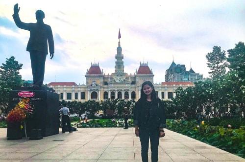 Vietnam -Ho Chi Minh City (Saigon)-Tourism-Hồ Chí Minh City Hall-19499 COVER