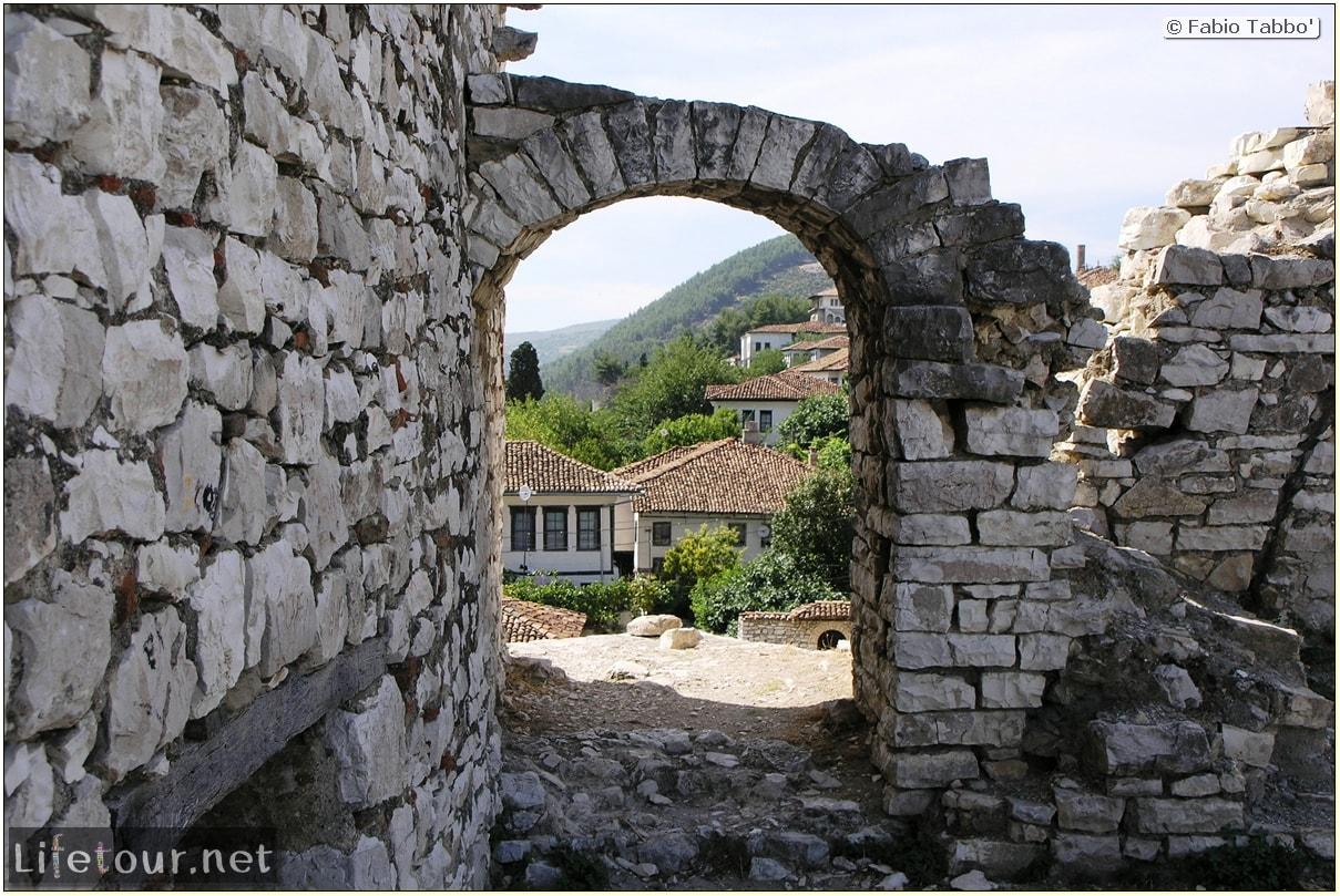 Fabio's LifeTour - Albania (2005 August) - Berat - Berat Castle - 20014