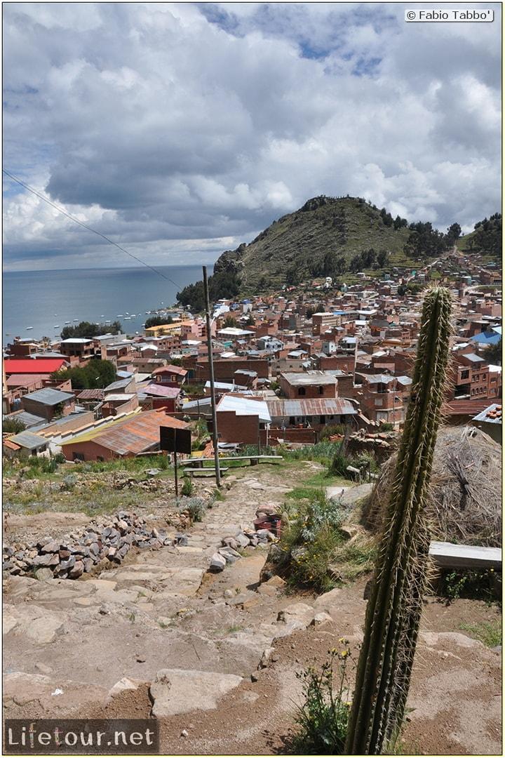Fabio_s LifeTour - Bolivia (2015 March) - Titicaca - Copacabana - Copacabana city - 3256