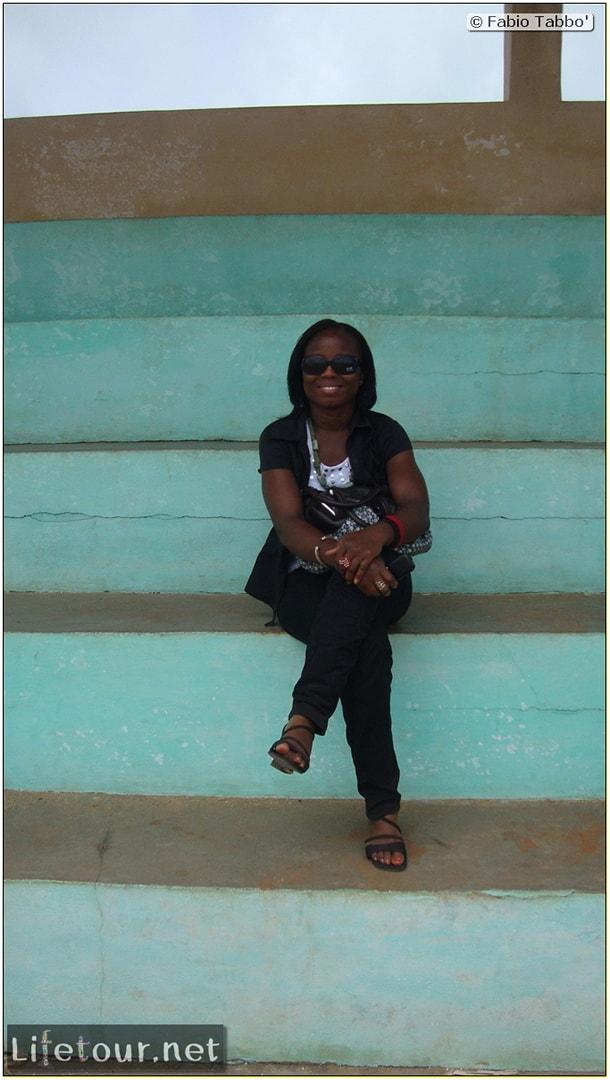 Fabio's LifeTour - Benin (2013 May) - Grand Popo - Comptoirs Coloniaux de Gbecon (ghost town) - 1416