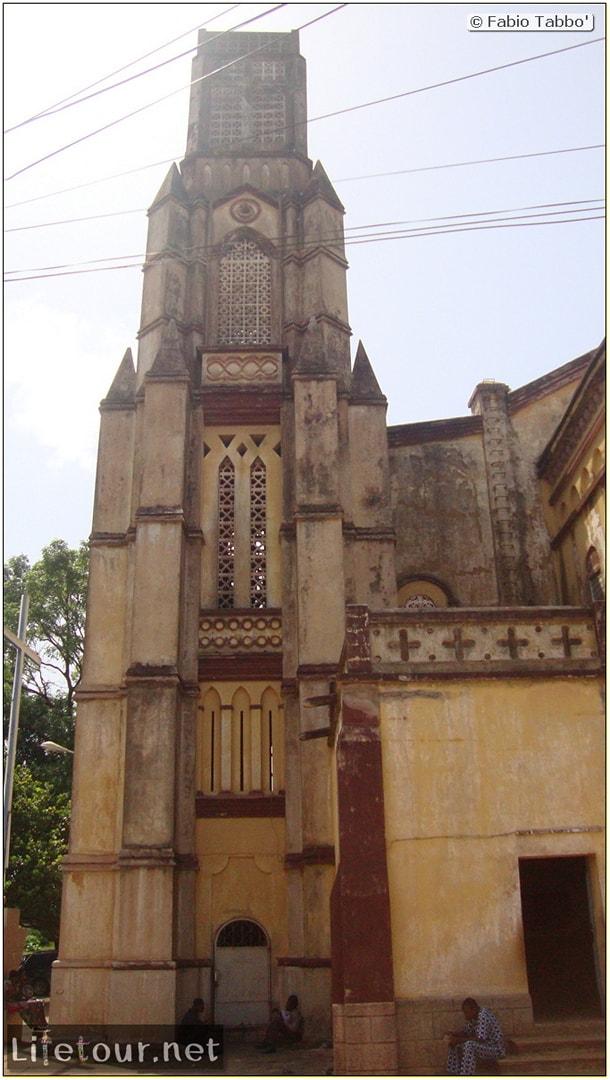 Fabio's LifeTour - Benin (2013 May) - Porto Novo - Eglise de Porto Novo - 1515