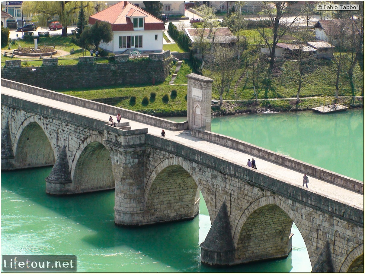 Fabio's LifeTour - Bosnia and Herzegovina (1984 and 2009) - Drina (Visegrad) - 198 coveredited
