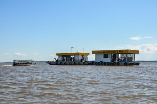 Fabio's LifeTour - Brazil (2015 April-June and October) - Manaus - Amazon Jungle - Fuel stations on the Amazon river - 10627 cover