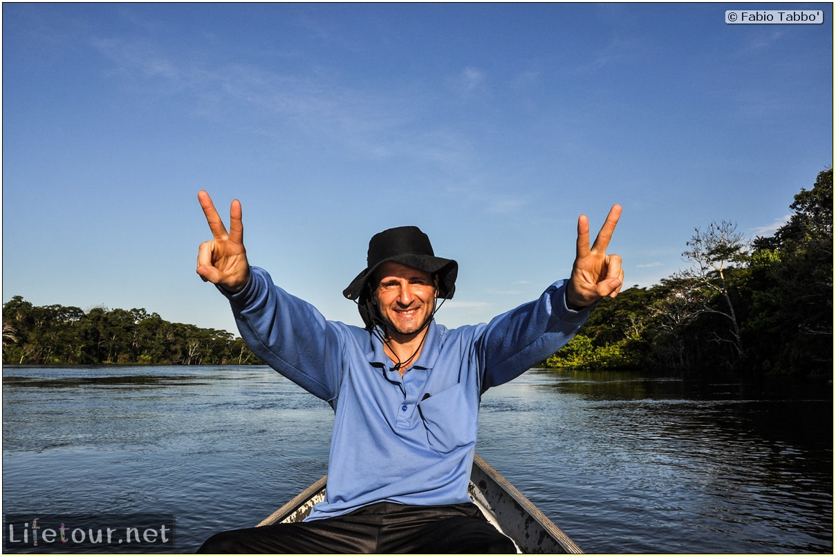 Fabio's LifeTour - Brazil (2015 April-June and October) - Manaus - Amazon Jungle - Piranha fishing - 10579