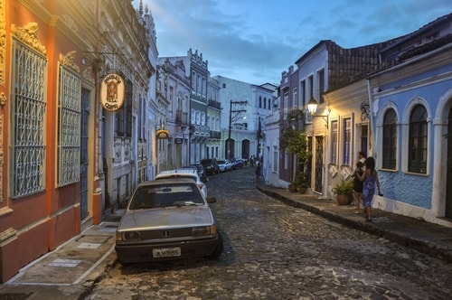 Salvador de Bahia - Upper city (Pelourinho) - other pictures of Historical center - 726 cover