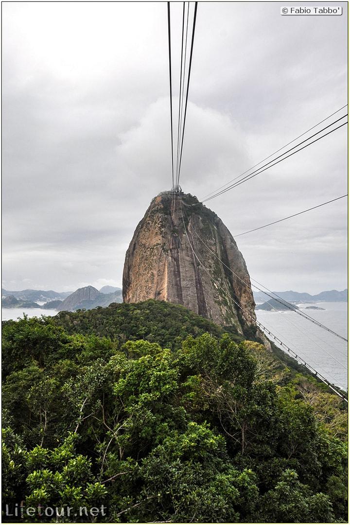 Brazil (2015) - Rio De Janeiro - Trilha Do P¦o De Açúcar - 4- on top of the mountain - 8530