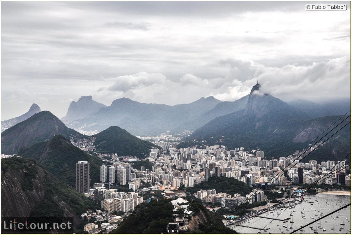 Brazil (2015) - Rio De Janeiro - Trilha Do P¦o De Açúcar - 4- on top of the mountain - 9262