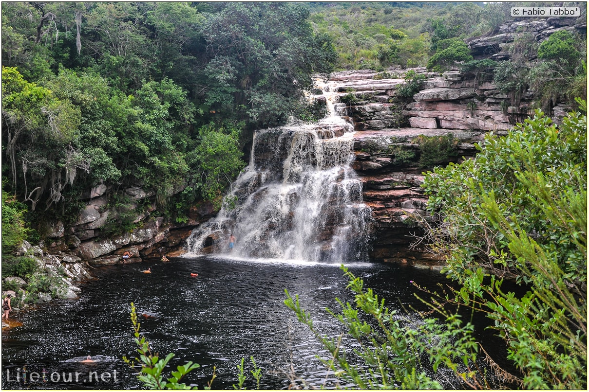 Fabio's LifeTour - Brazil (2015 April-June and October) - Chapada Diamantina - National Park - 1- Waterfalls - 4280 cover