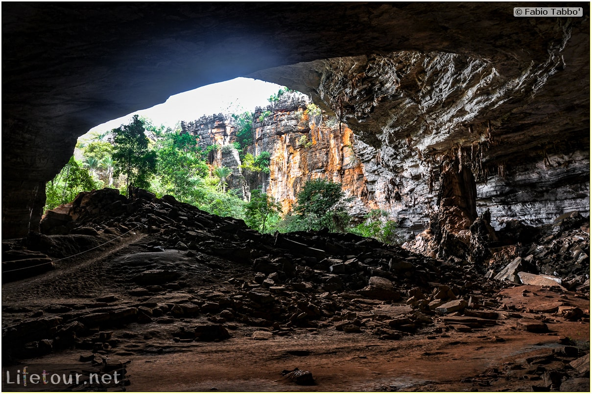 Fabio's LifeTour - Brazil (2015 April-June and October) - Chapada Diamantina - National Park - 2- Gruta da Lapa Doce - 7081 cover