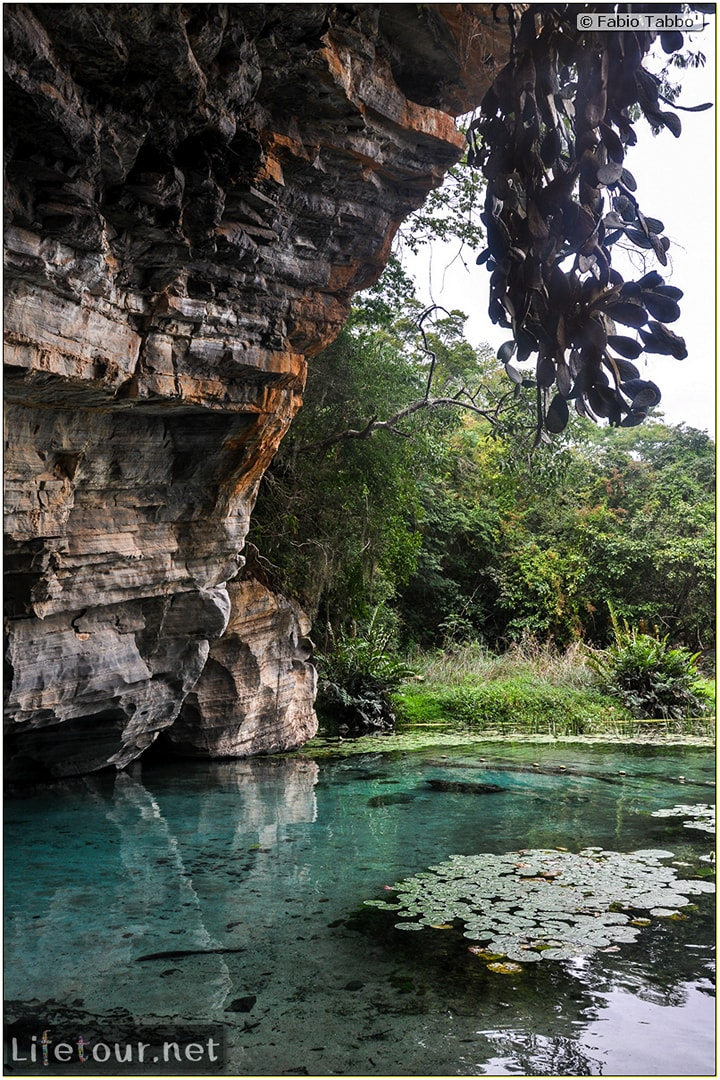Fabio's LifeTour - Brazil (2015 April-June and October) - Chapada Diamantina - National Park - 4- Gruta Azul - 9457