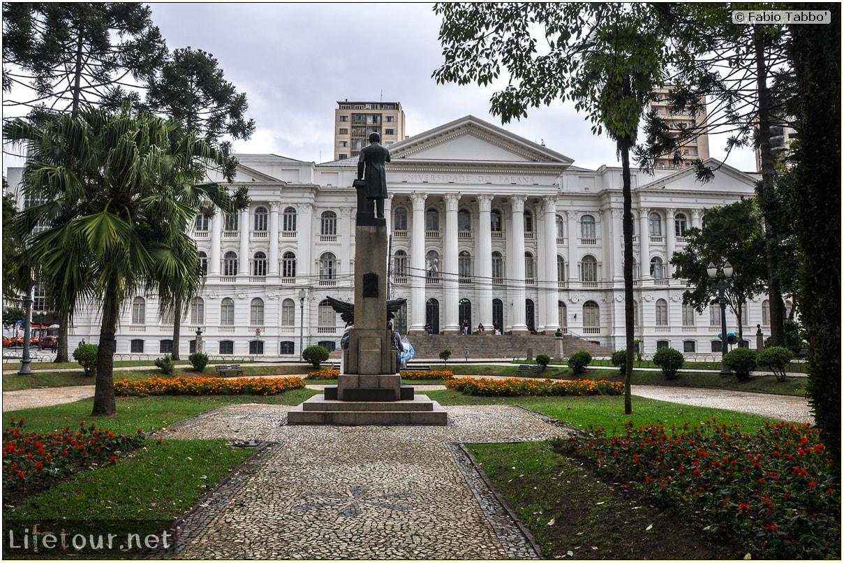 Fabio's LifeTour - Brazil (2015 April-June and October) - Curitiba - Historical center - Universidade do Parana - 5335 cover