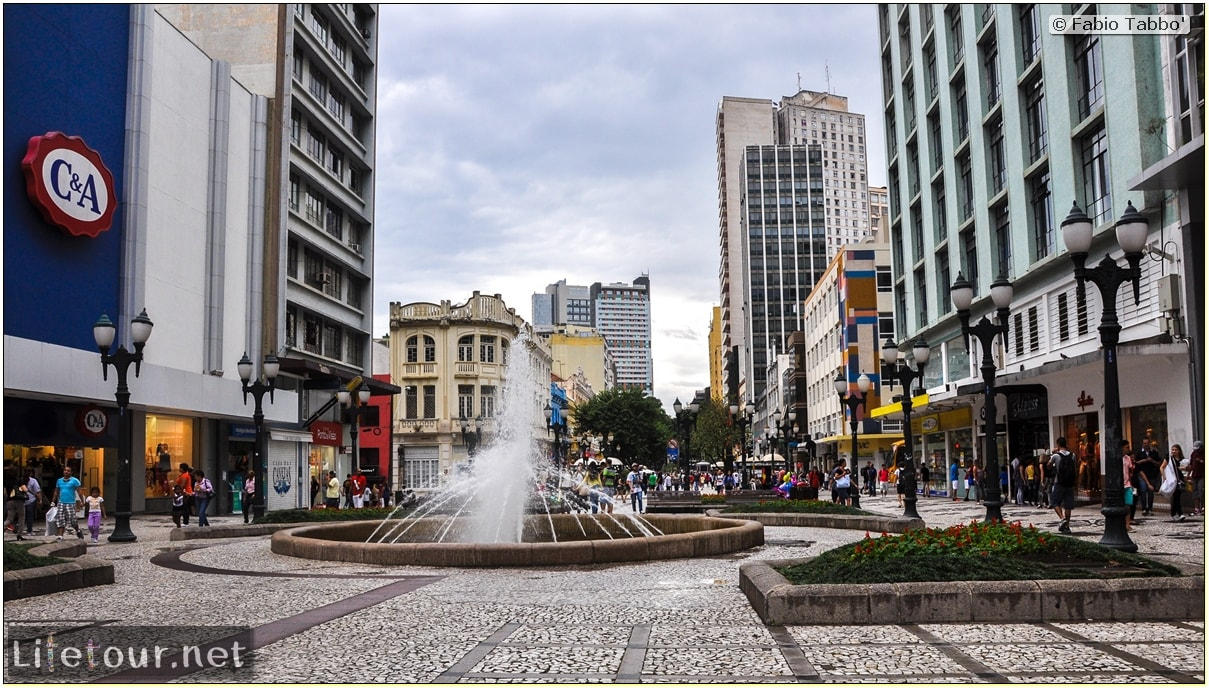 Fabio's LifeTour - Brazil (2015 April-June and October) - Curitiba - Historical center - other pictures city center - 5414