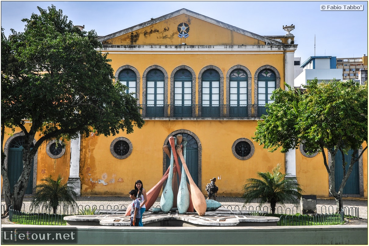 Fabio's LifeTour - Brazil (2015 April-June and October) - Florianopolis - Historical center - 2465