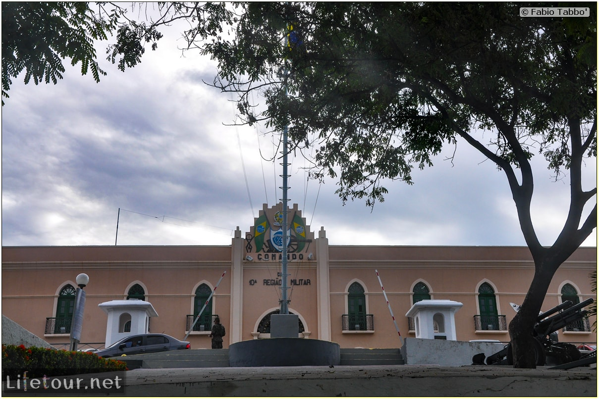 Fabio's LifeTour - Brazil (2015 April-June and October) - Fortaleza - city center - Comando Militar - 2569
