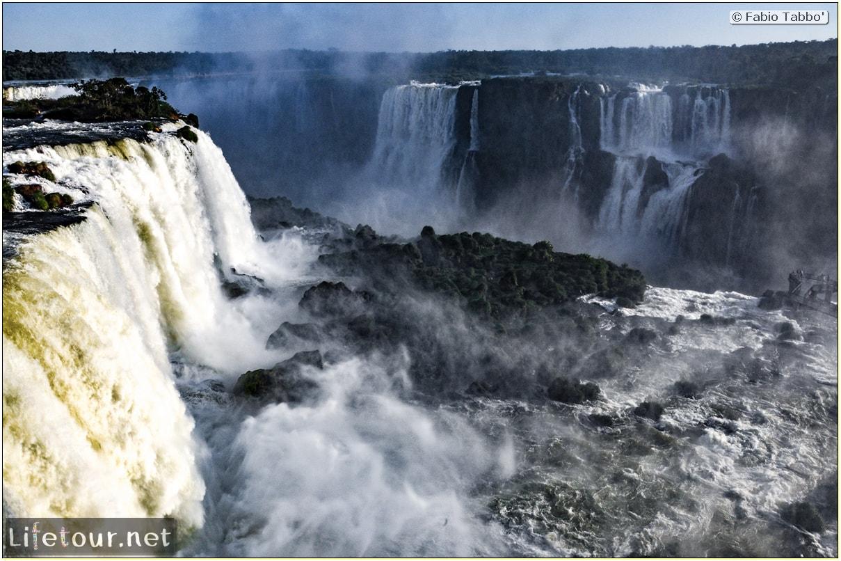 Fabio's LifeTour - Brazil (2015 April-June and October) - Iguazu falls - The falls - 10772