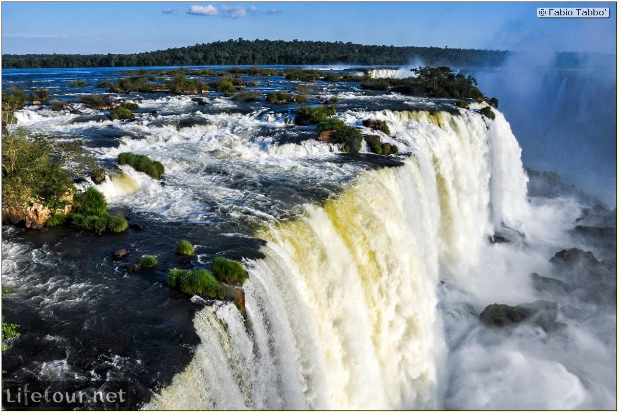 Fabio's LifeTour - Brazil (2015 April-June and October) - Iguazu falls - The falls - 10780