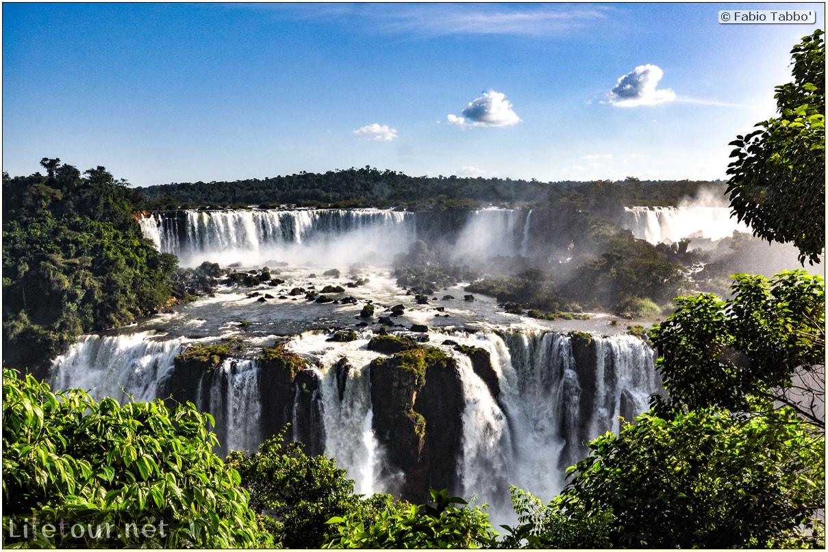 Fabio's LifeTour - Brazil (2015 April-June and October) - Iguazu falls - The falls - 5818 cover