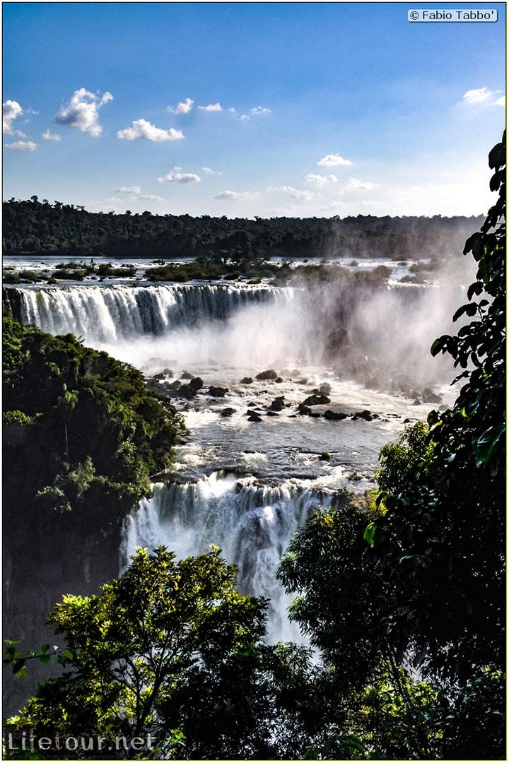Fabio's LifeTour - Brazil (2015 April-June and October) - Iguazu falls - The falls - 7466