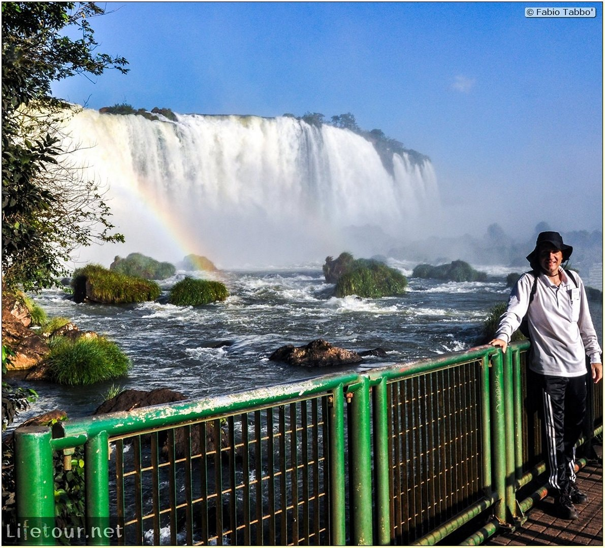 Fabio's LifeTour - Brazil (2015 April-June and October) - Iguazu falls - The falls - 8143 cover