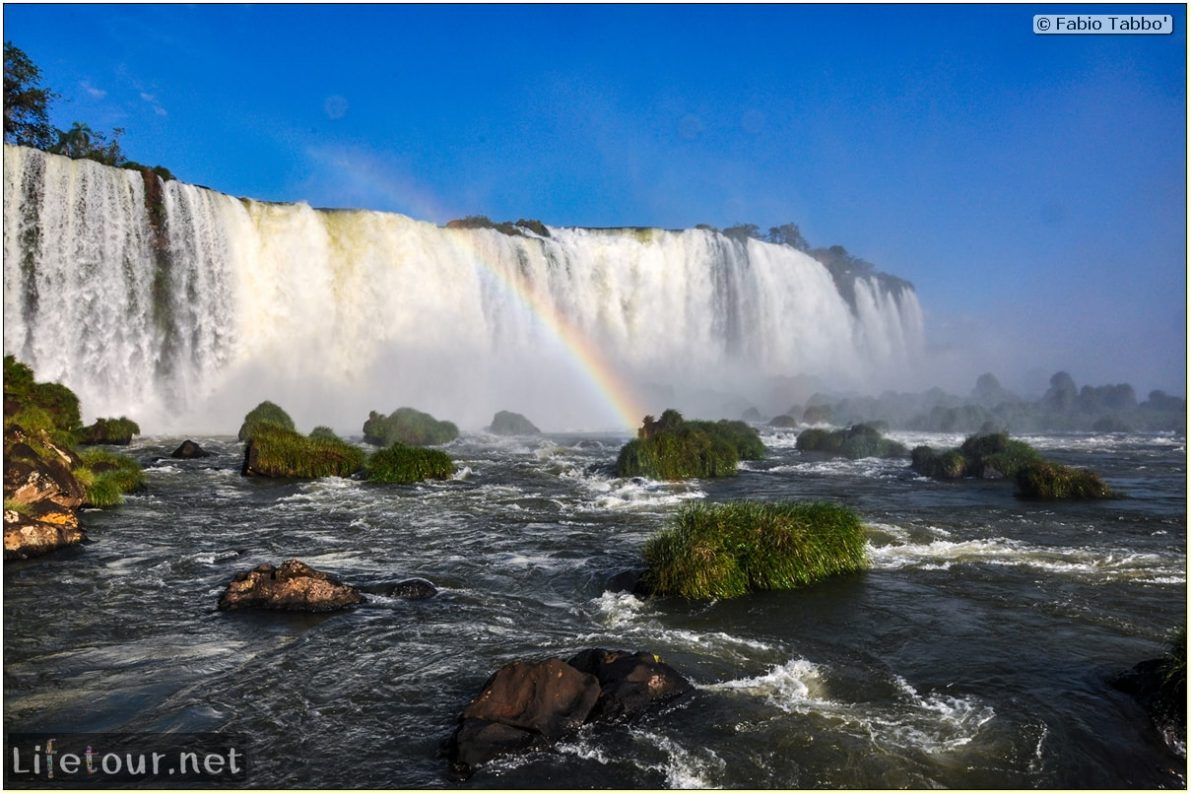 Fabio's LifeTour - Brazil (2015 April-June and October) - Iguazu falls - The falls - 8217 cover